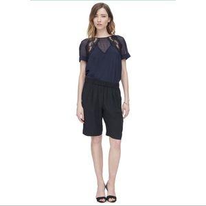 Rebecca Taylor silk shorts